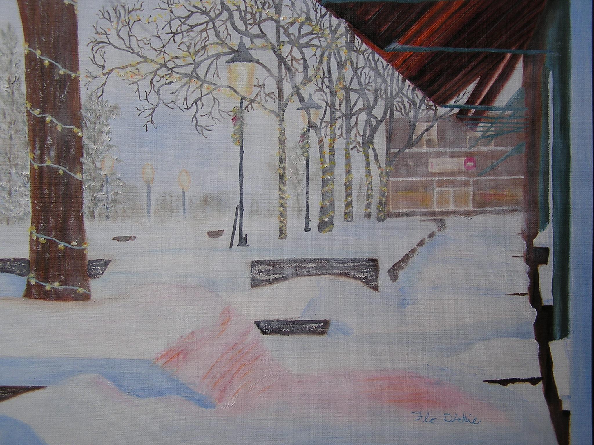 Snowstorm - Flo Dickie