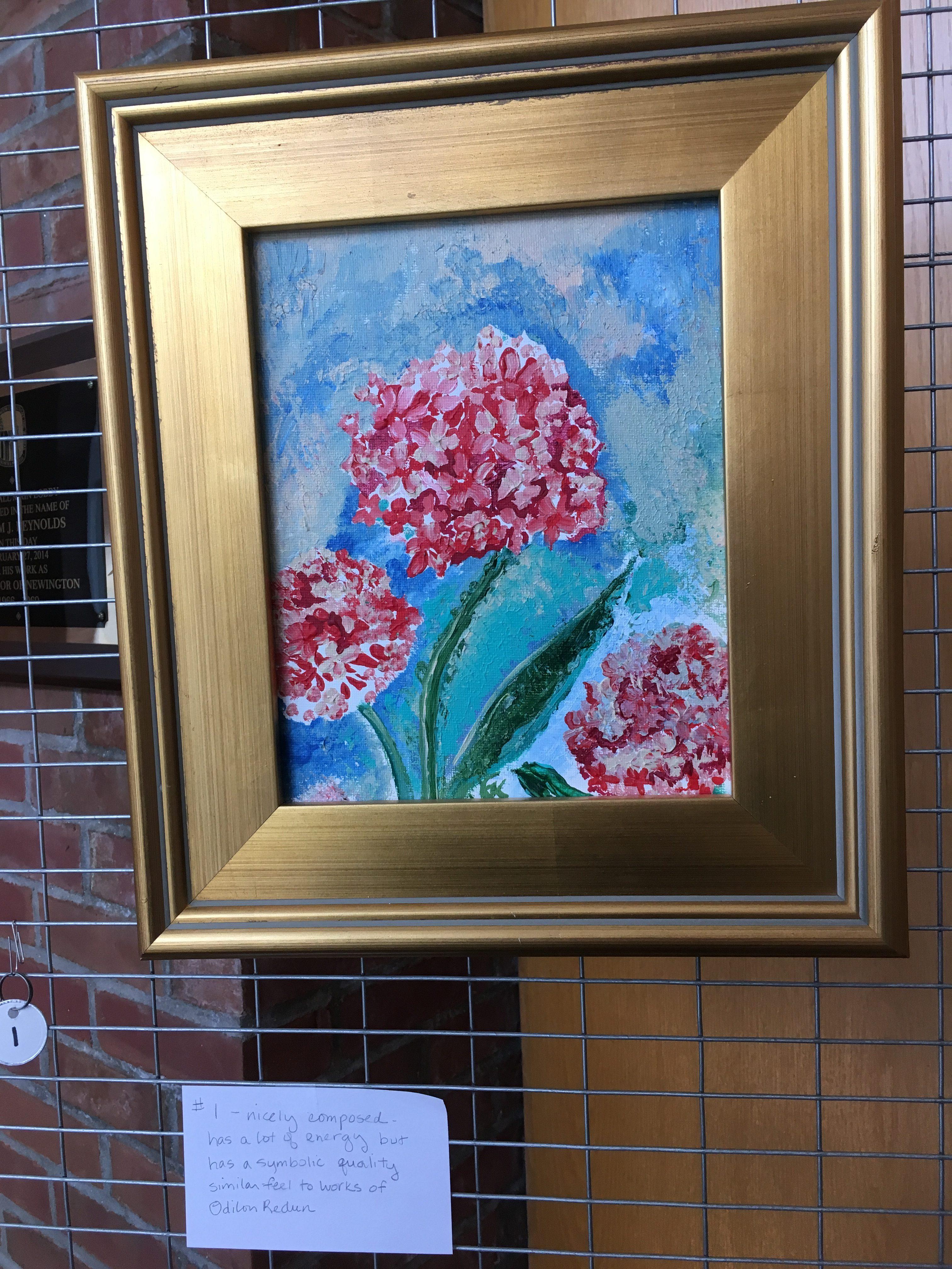 Red Hydrangea - Kathleen Brooks