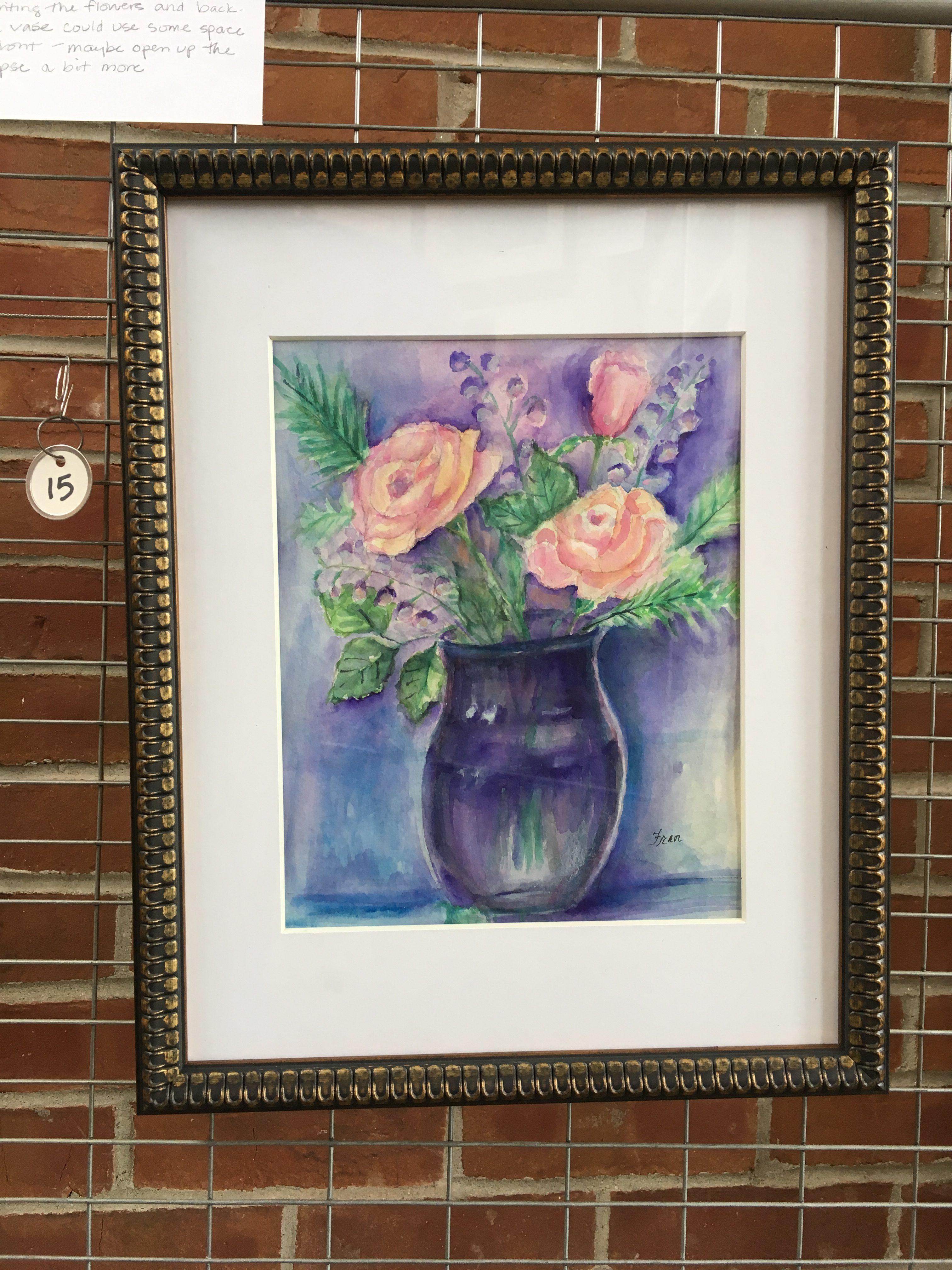 Rose in Bloom -- Fran Guzzardi