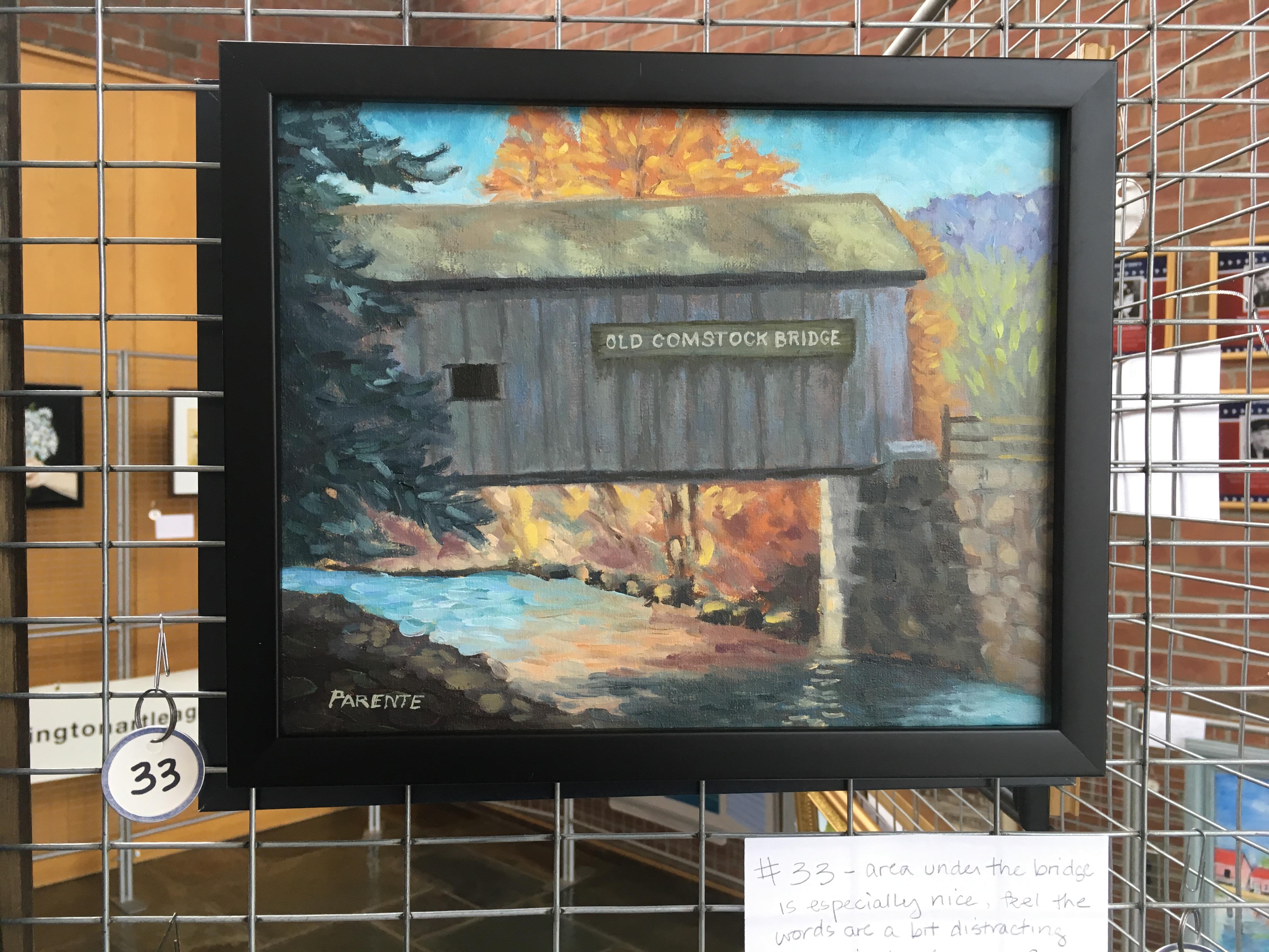 Old Comstock Bridge - Pat Parente