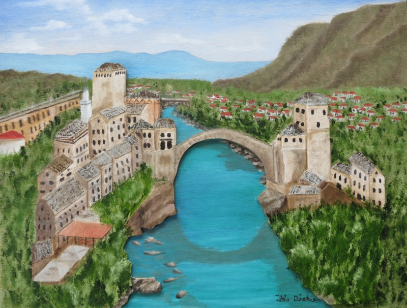 Mostar & Neretva River - Flo Dickie